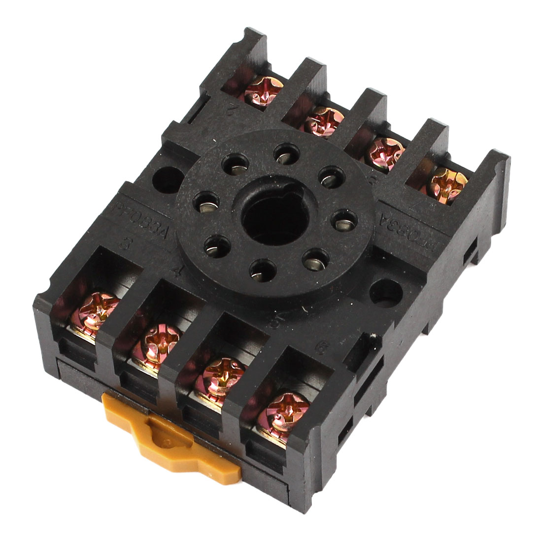 PF083A 8 Pin Time Relay Screw Terminal Socket Base AC 300V 12A for JQX-10F-2Z MK2P