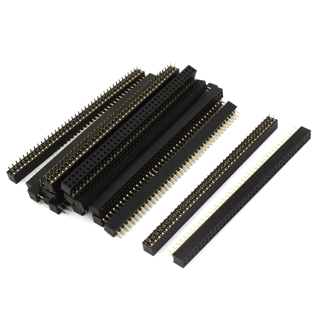 20pcs Double Row 40 Pin 2mm Pitch Female PCB Header Connector