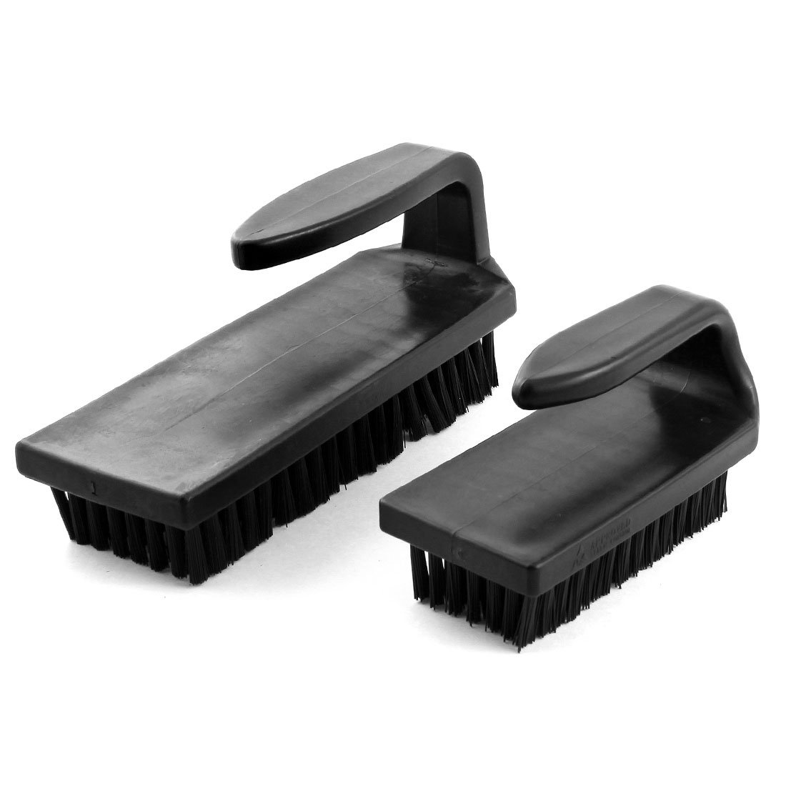 XXL XL Size U Type Black Plastic Handle Static Control Conductive Ground PCB Rework ESD Anti Static Brush Cleaning Tool 2Pcs