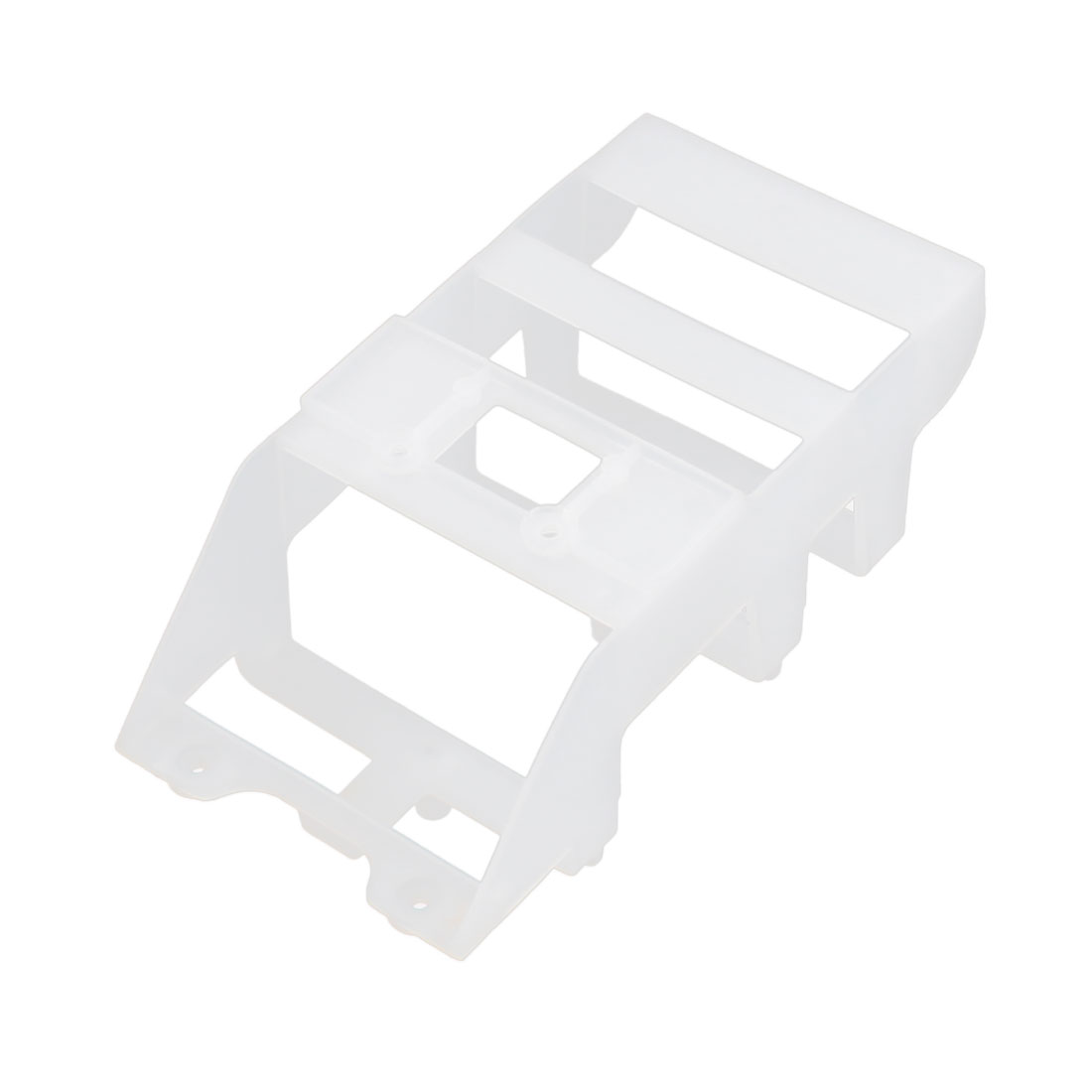 RC Radio Control Helicopter White Plastic Battery Case Barcket Holder Spare Part for Syma S031G