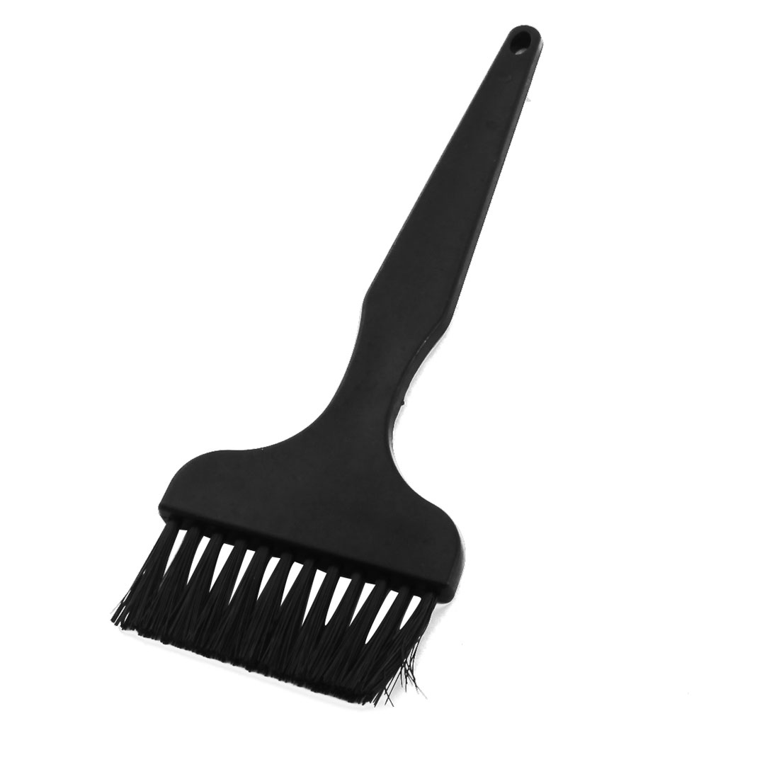 PCB Motherboards Rework Dust Cleaning Tool Black Straight Plastic Handle ESD Protection Anti-static Brush Comb