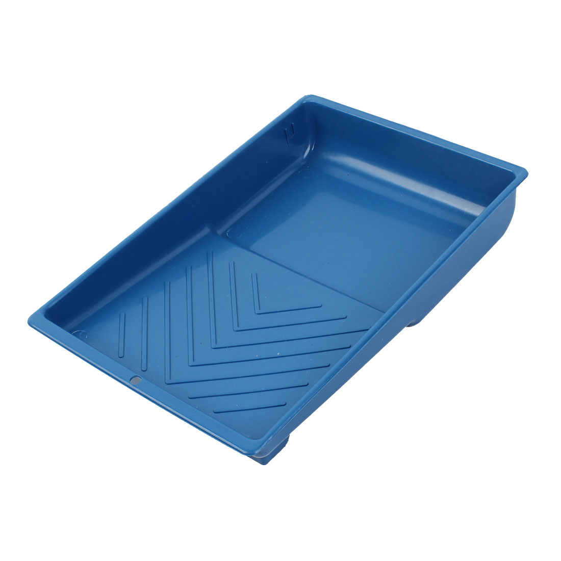 "Blue Plastic Painting Decorating 7"" Roller Tray Paint Holder"