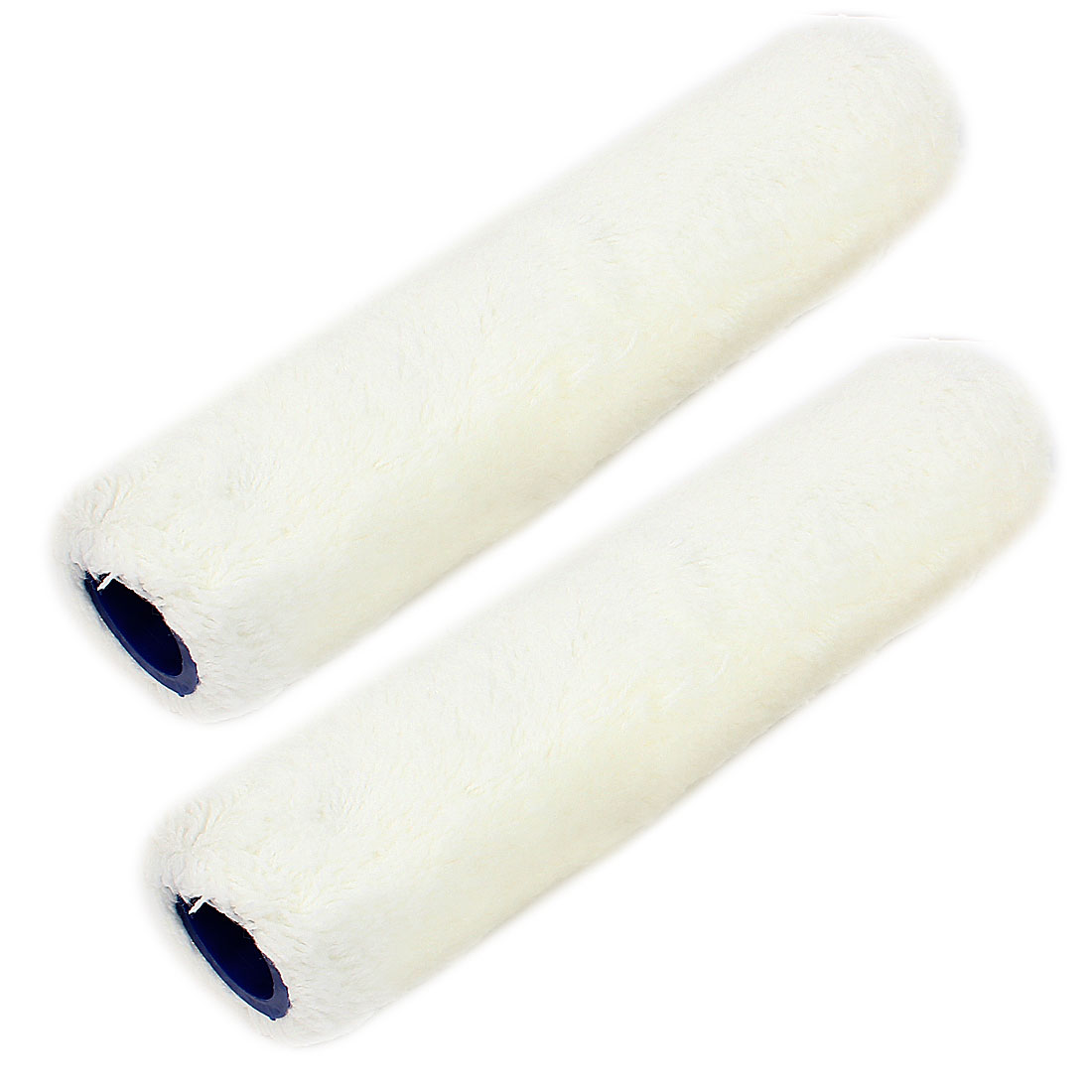 "2pcs House Floor Wall Decoration Paint Roller Covers White 10"" Length"