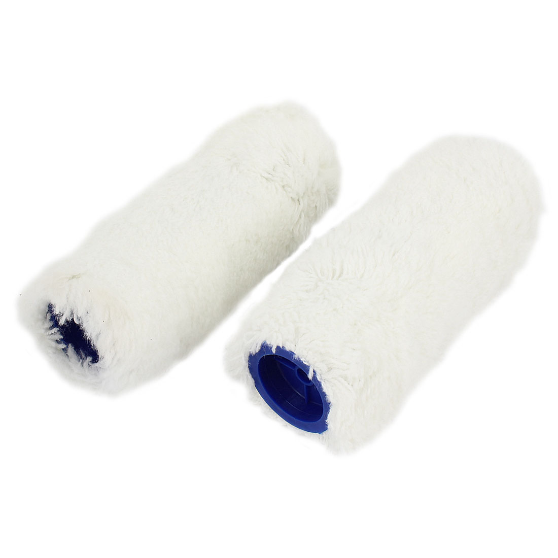 "2pcs House Floor Wall Decoration Paint Roller Sleeve White 6"" Length"