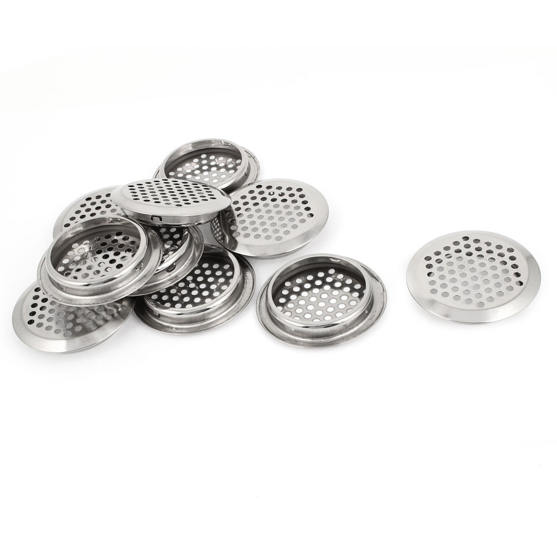 10pcs 6.5cm Dia Water Drain Stopper Disposal Sink Basin Strainer for Bathroom