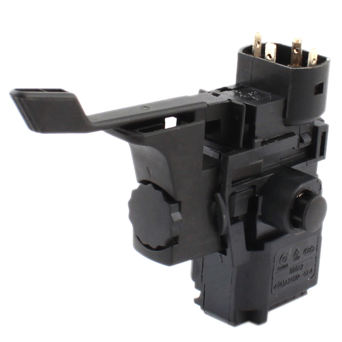 AC 250V 6A Rotary Direction Change Trigger Switch Black for Bosch 24