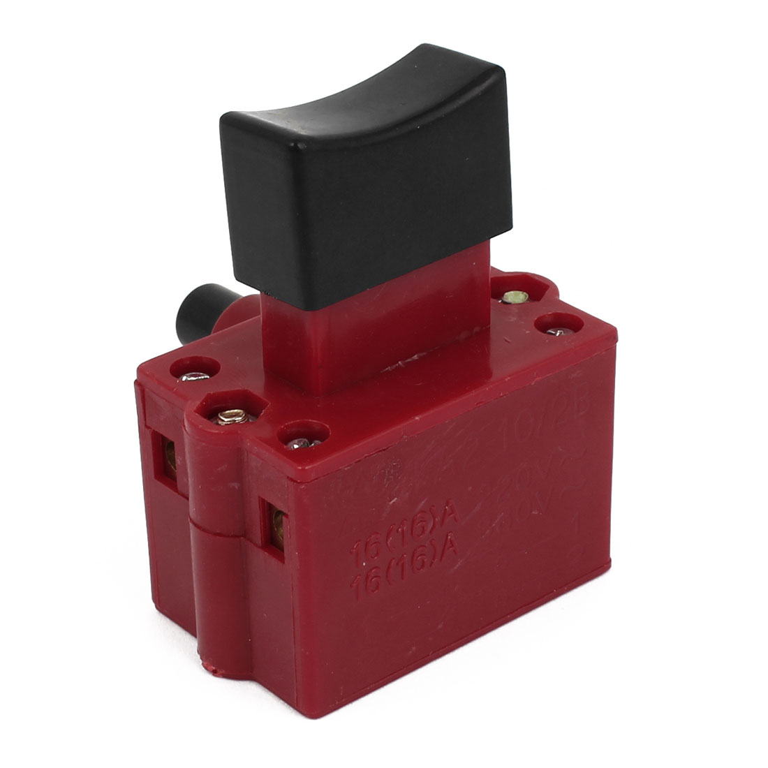 AC 220V/380V 16A NO Momentary Select Locking Electric Tool Trigger Switch