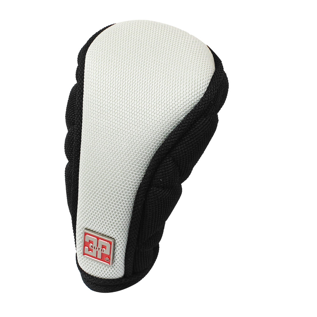 Universal Black Gray Nonslip Nylon Car Gear Hand Shift Knob Boot Cover Cap