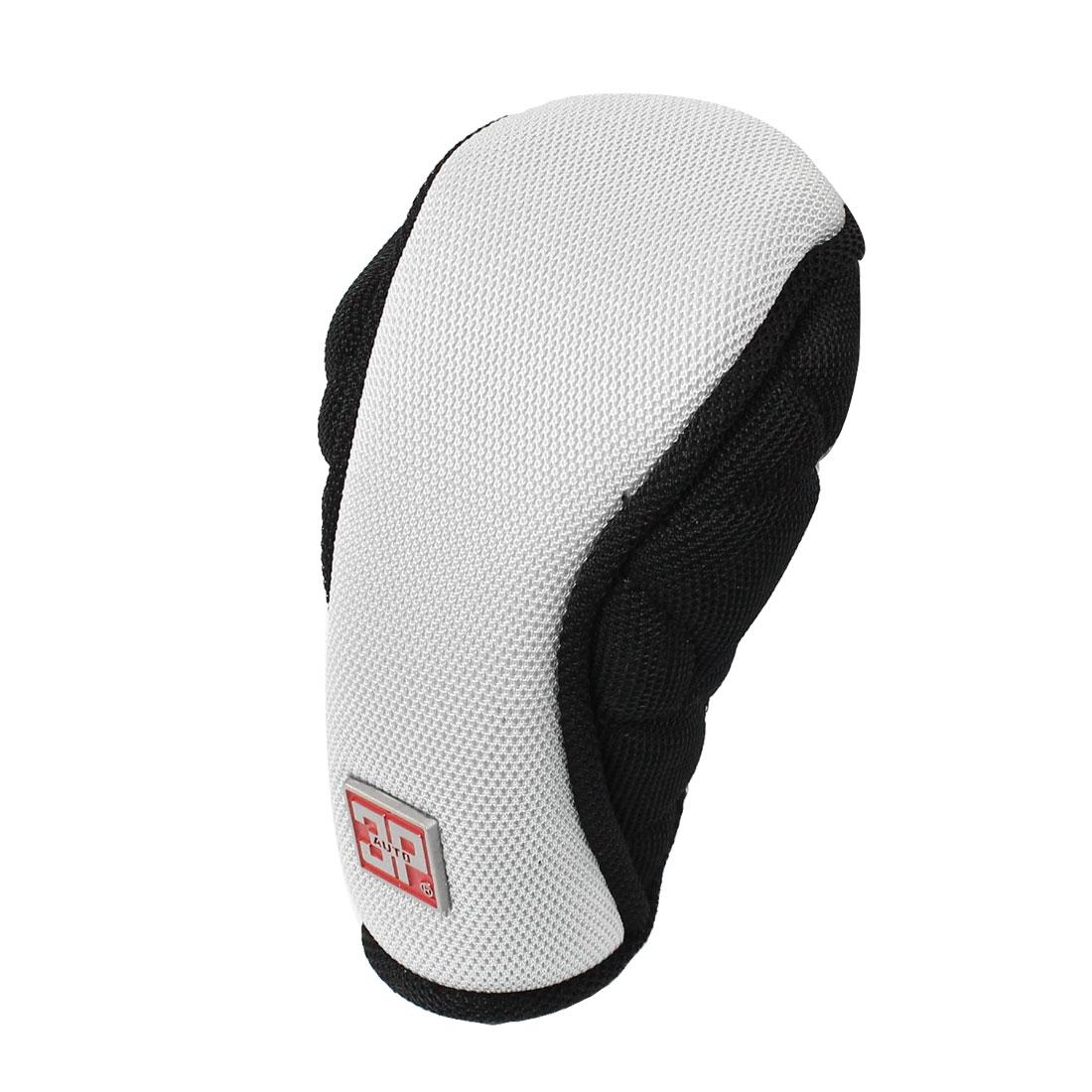 Black Gray Nylon Car Shift Hand Gear Knob Lever Cover Protector