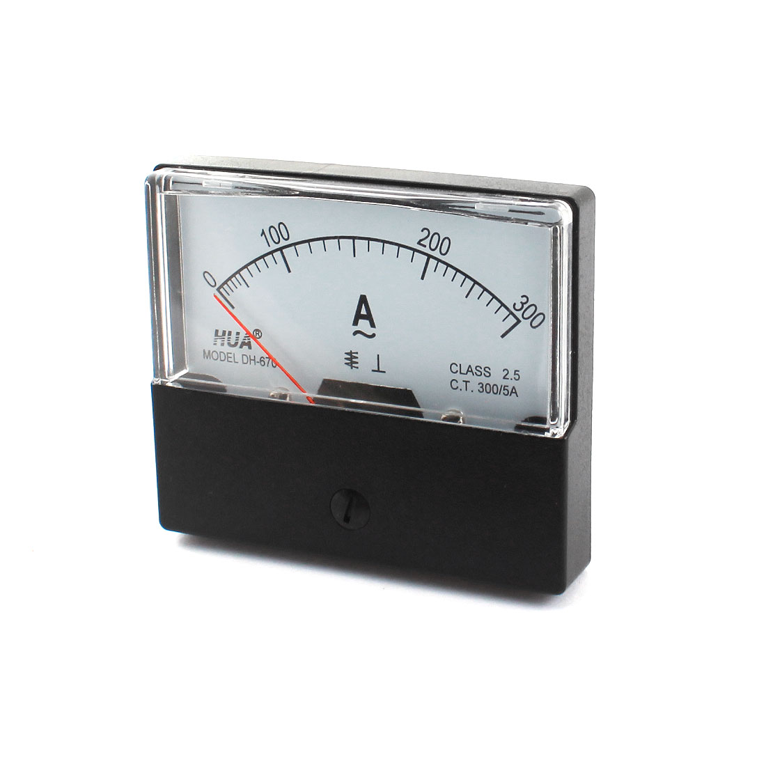 AC 300A Class 2.5 Analog Current Panel Meter Ammeter Gauge