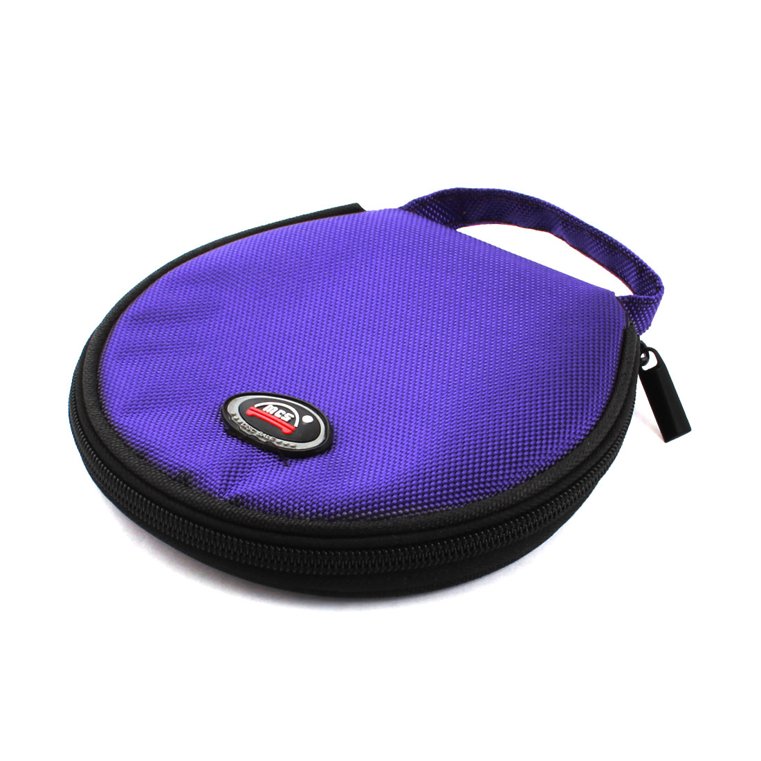 Car Universal Purple Oxford Fabric Cover 20 Capacity CD Holder Wallet Bag