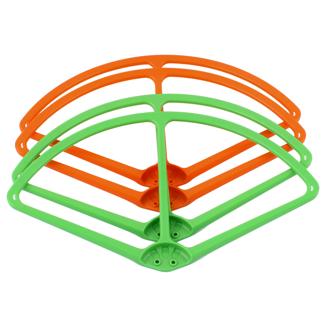 "9"" Propeller Prop Protective Guard Bumper Set Orange Green for DJI Phantom 2 Vision"