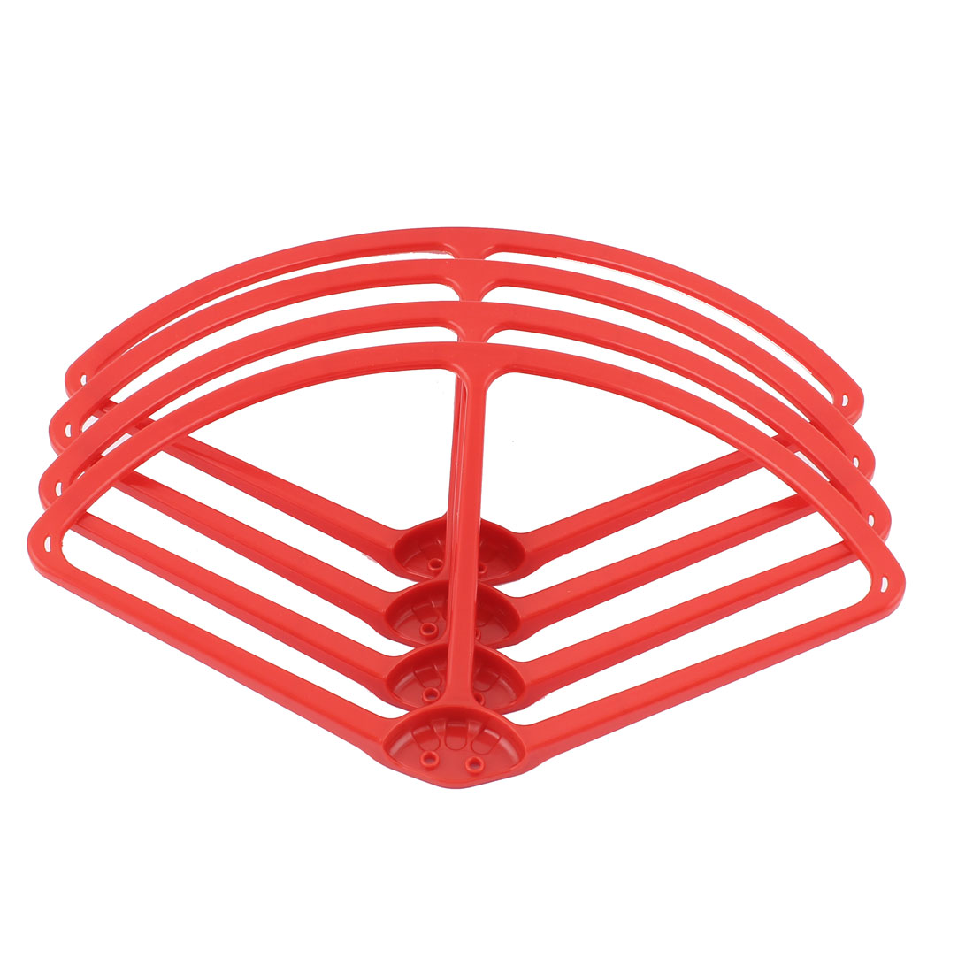 "9"" Propeller Vane Prop Protector Guard Bumper Set Red for DJI Phantom 2 Vision"