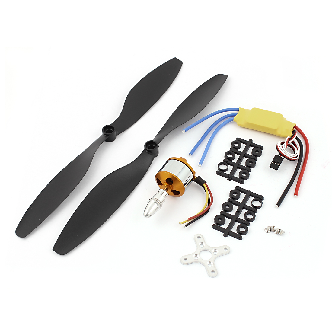 30A Brushless ESC + A2212 1000KV Motor + 1045 Propeller for DJI Phantom F450 550