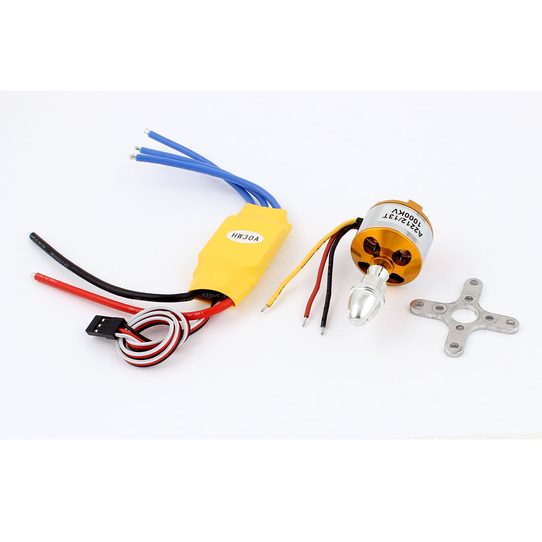 A2212 1000KV Brushless Motor + 30A ESC for RC Model Airplane Boat