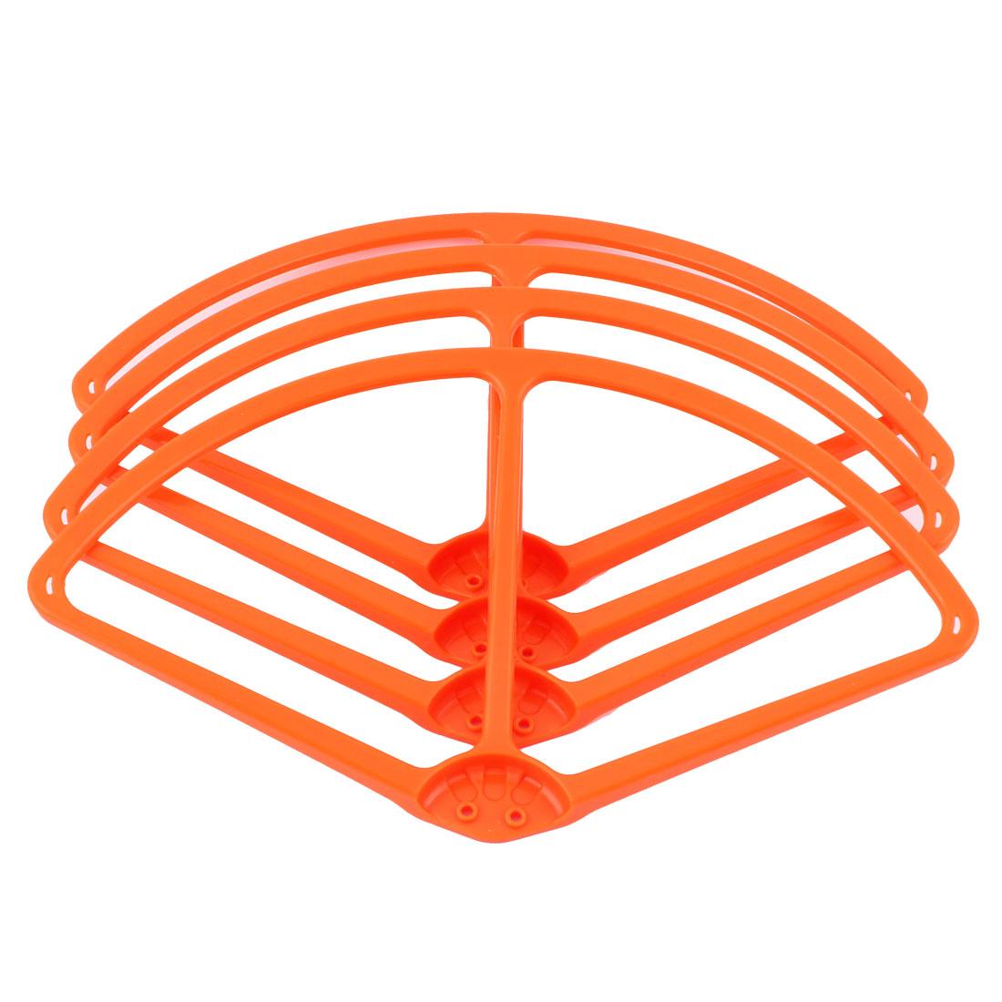 "9"" Prop Protective Protector Guard Bumper Set Orange for DJI Phantom 2 Vision"