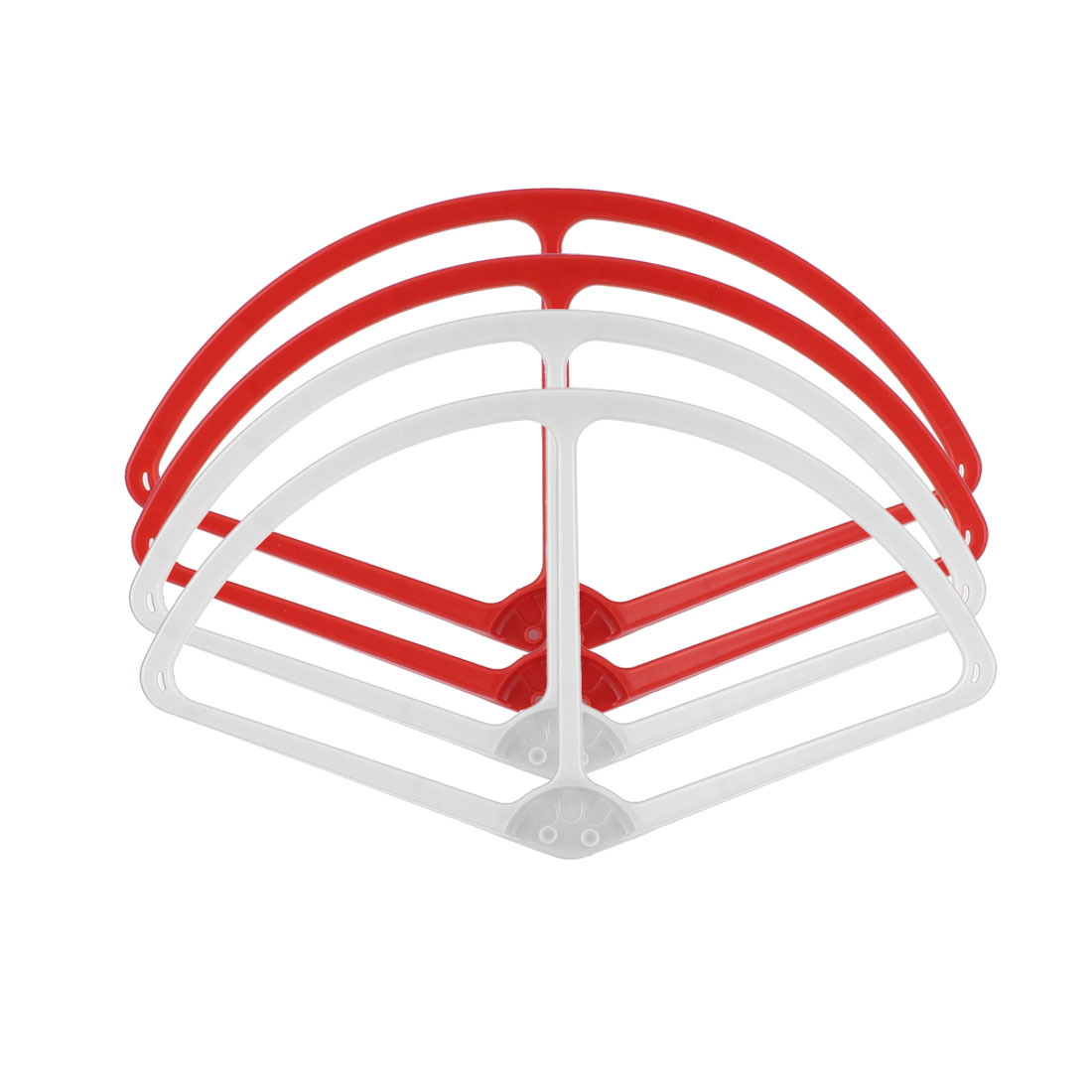 "9"" Propeller Prop Protector Guard Bumper Set Red White for DJI Phantom 2 Vision"