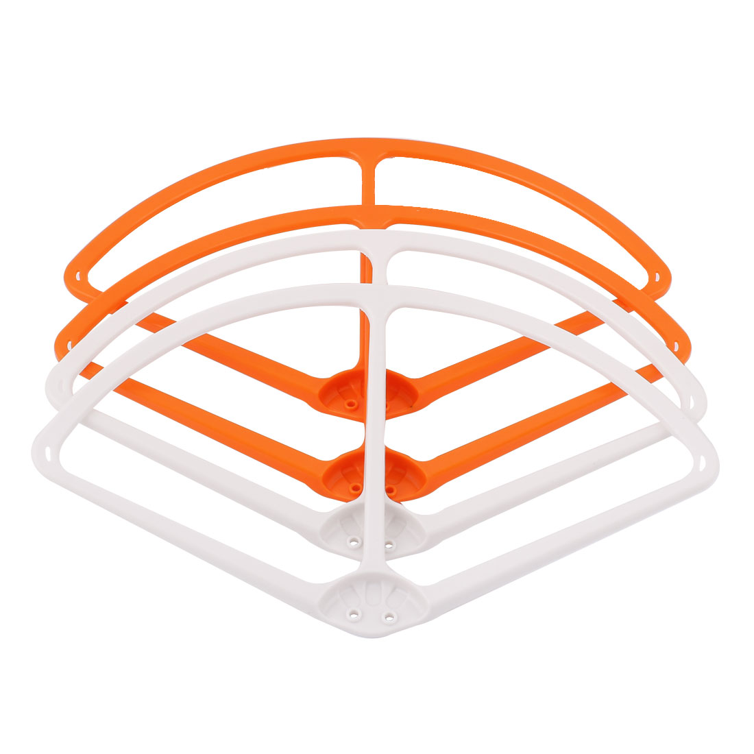 "9"" Propeller Protective Guard Bumper Set Orange White for DJI Phantom 2 Vision"