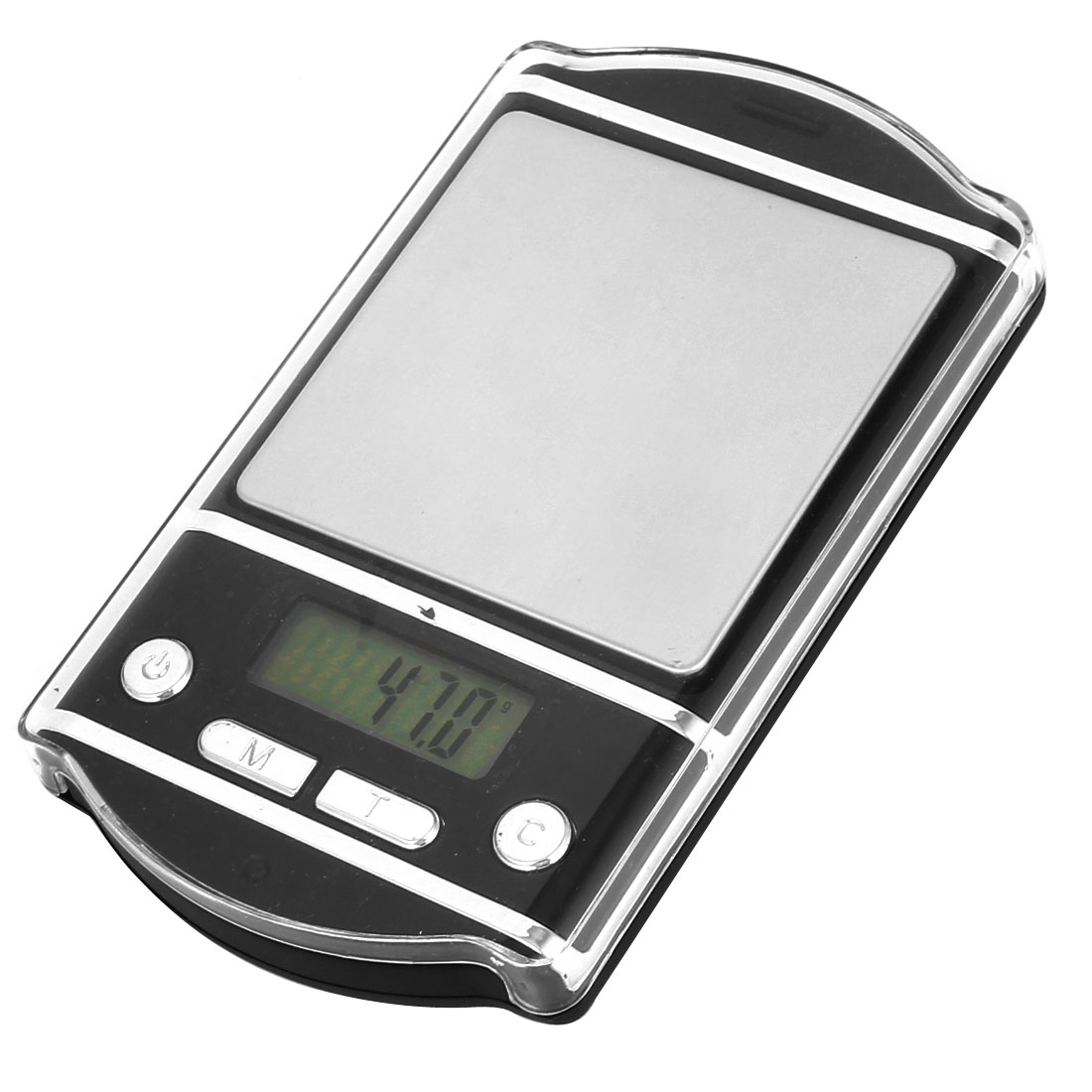Clear Plastic Cover 0.1g 500g Jewelry Weight Balance Mini Digital Pocket Scale