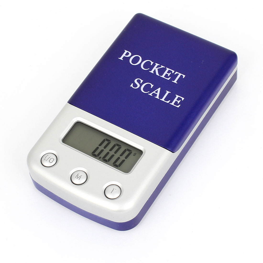 Handheld 100g x 0.01g Jewelry Weight Balance Digital Pocket Scale Dark Blue