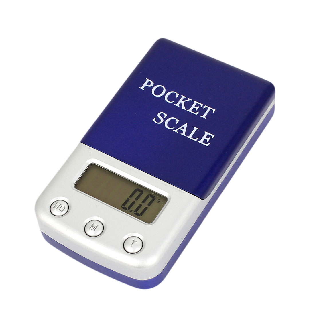 Handheld 500g x 0.1g Jewelry Weight Balance Digital Pocket Scale Dark Blue