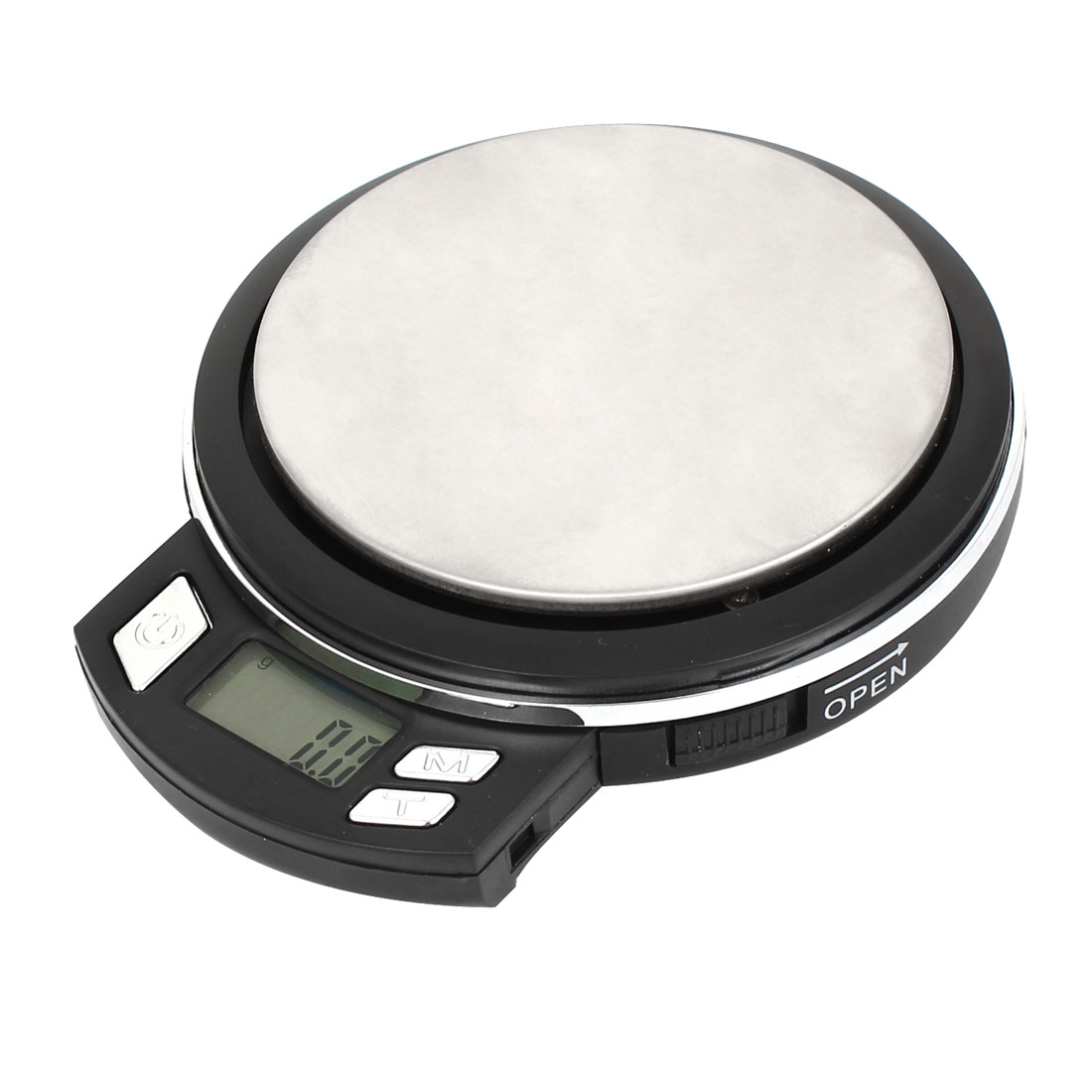 Round Shape 0.1g 500g Jewelry Weight Balance Mini Digital Pocket Scale
