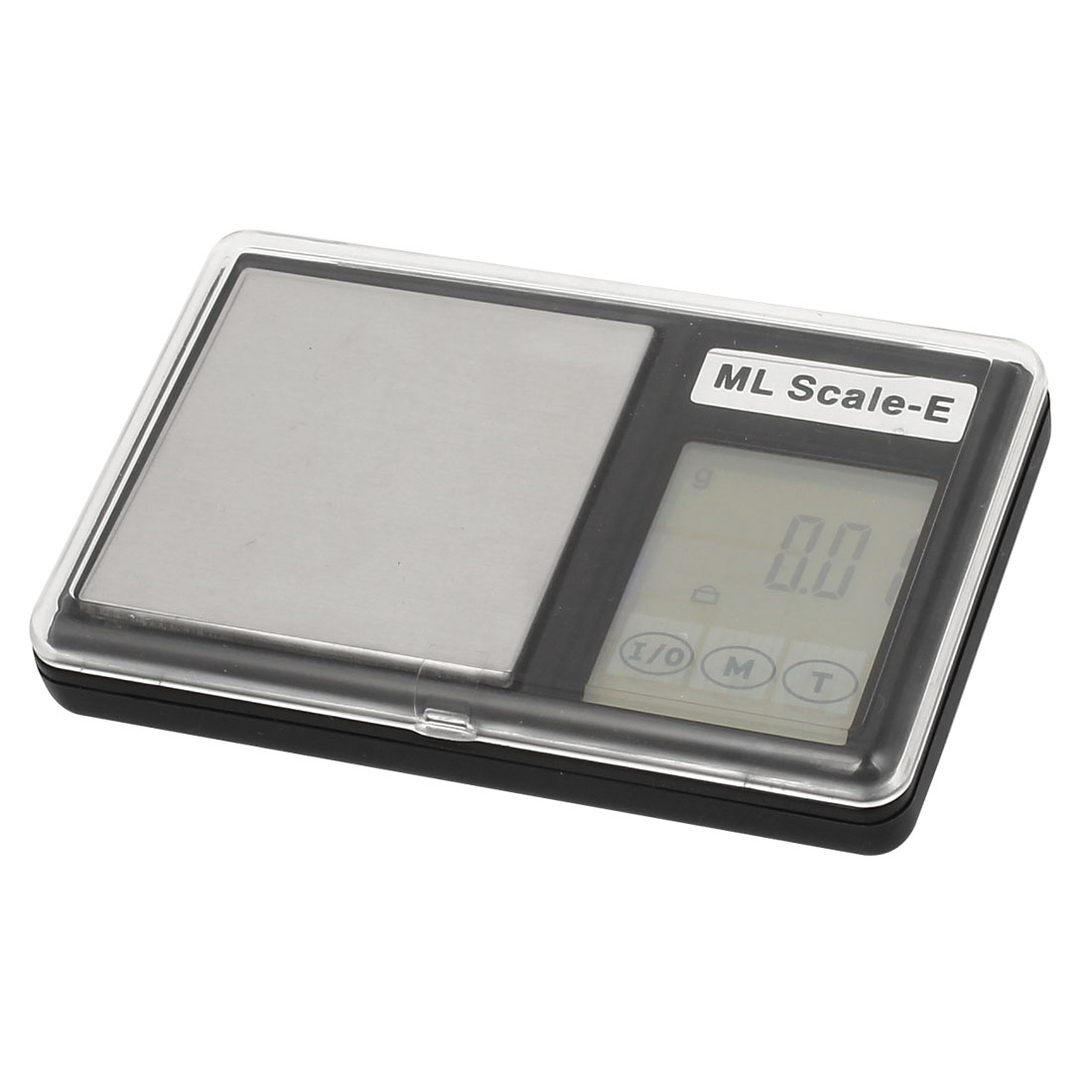 Clear Cover 0.01g x 100g Jewelry Weight Balance Digital Pocket Scale Black