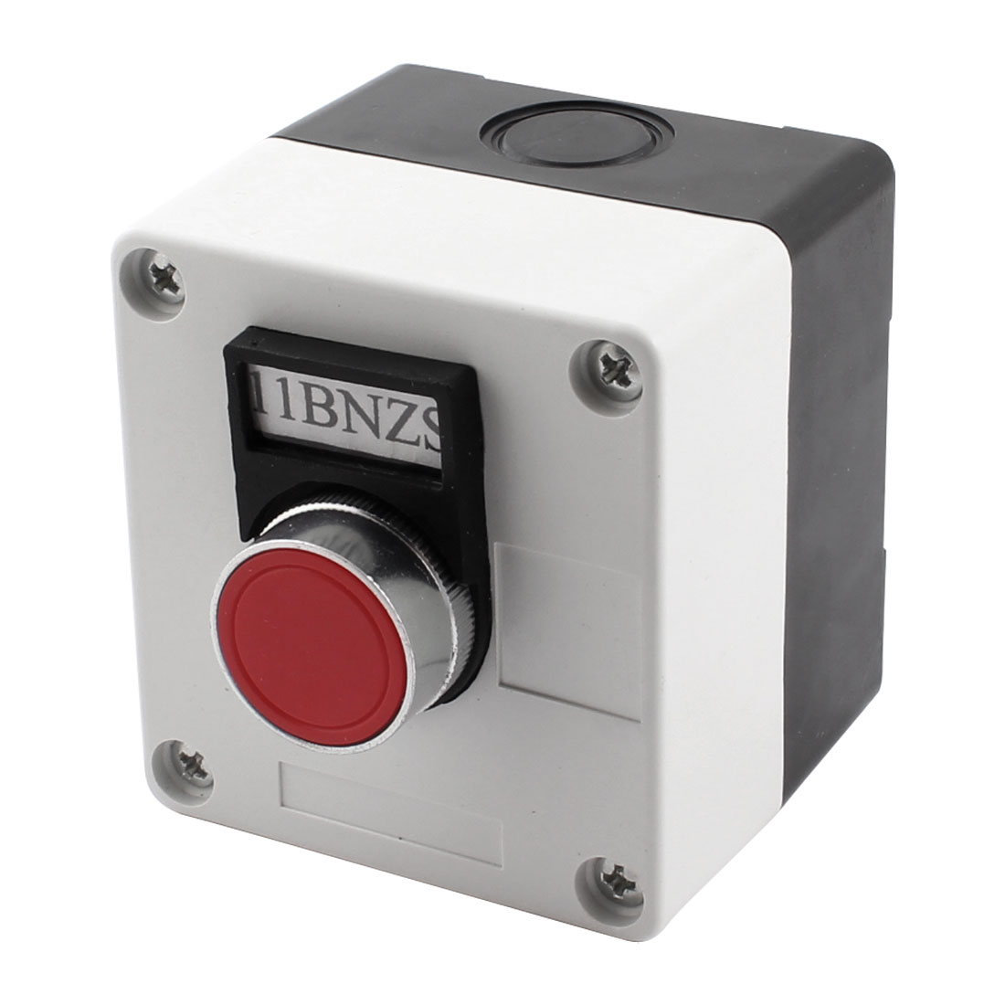 Ui 660V Ith 10A Red Round Flat Push Button Switch Station