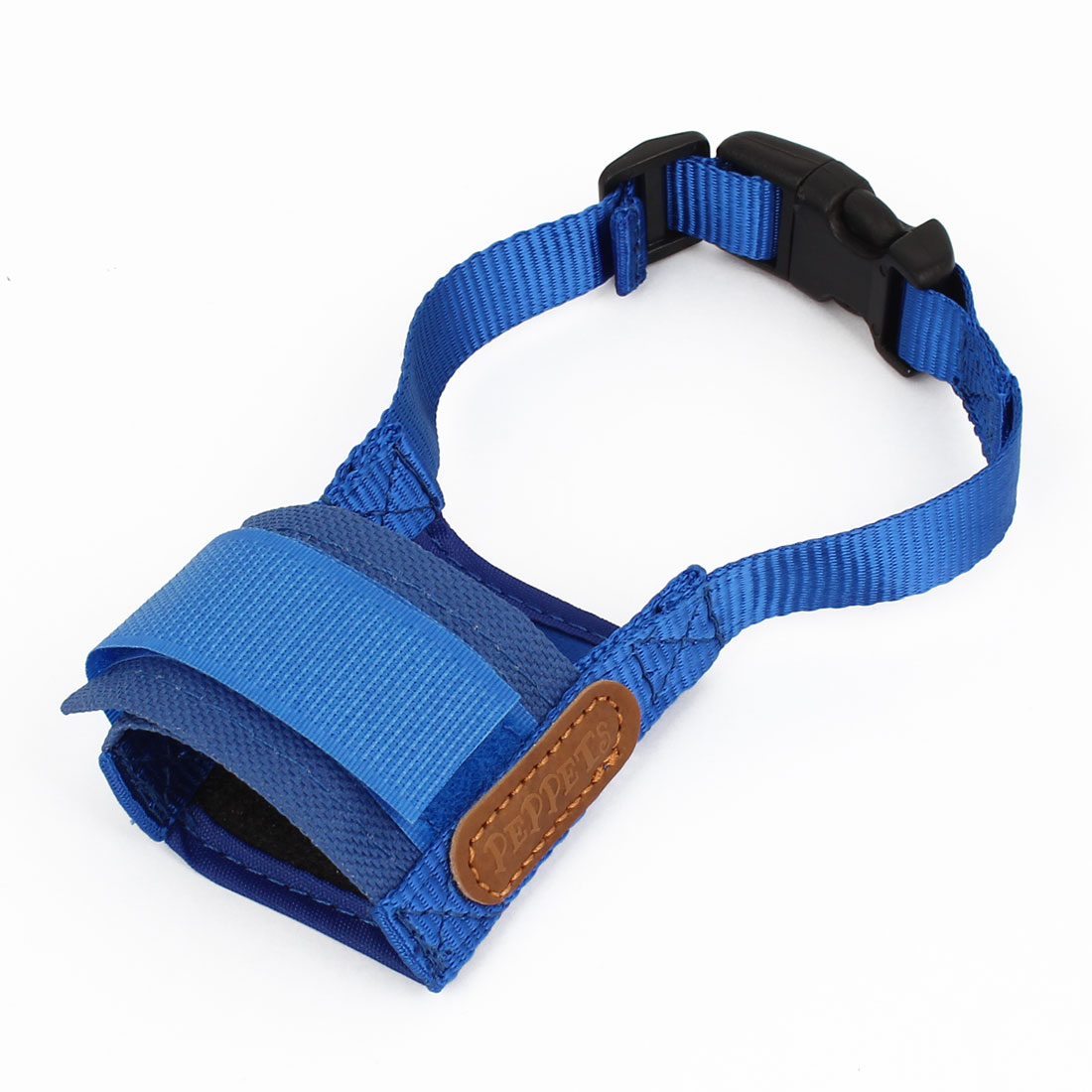 Release Buckle Blue Adjustable Belt Mesh Style Basket Muzzle XS for Pet Dog Doggy