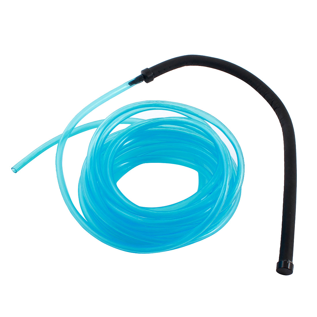 Clear Blue Aquarium Flexible Air Oxygen Circulate Pipe 5m w Air Curtain Bubble