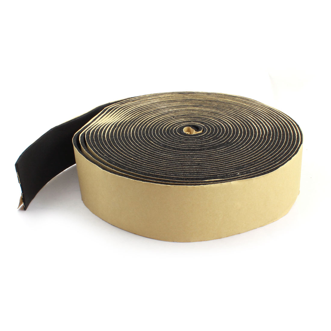 Black Electric Wire Protector Self-Adhesive Elastomeric Insulating Tape 10m Long