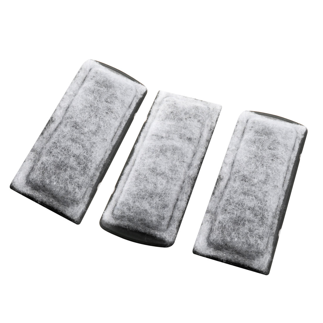 3 Pcs 13.5cm x 5cm x 1.3cm Rectangular Filter Sponge Pad Mat White for Fish Tank