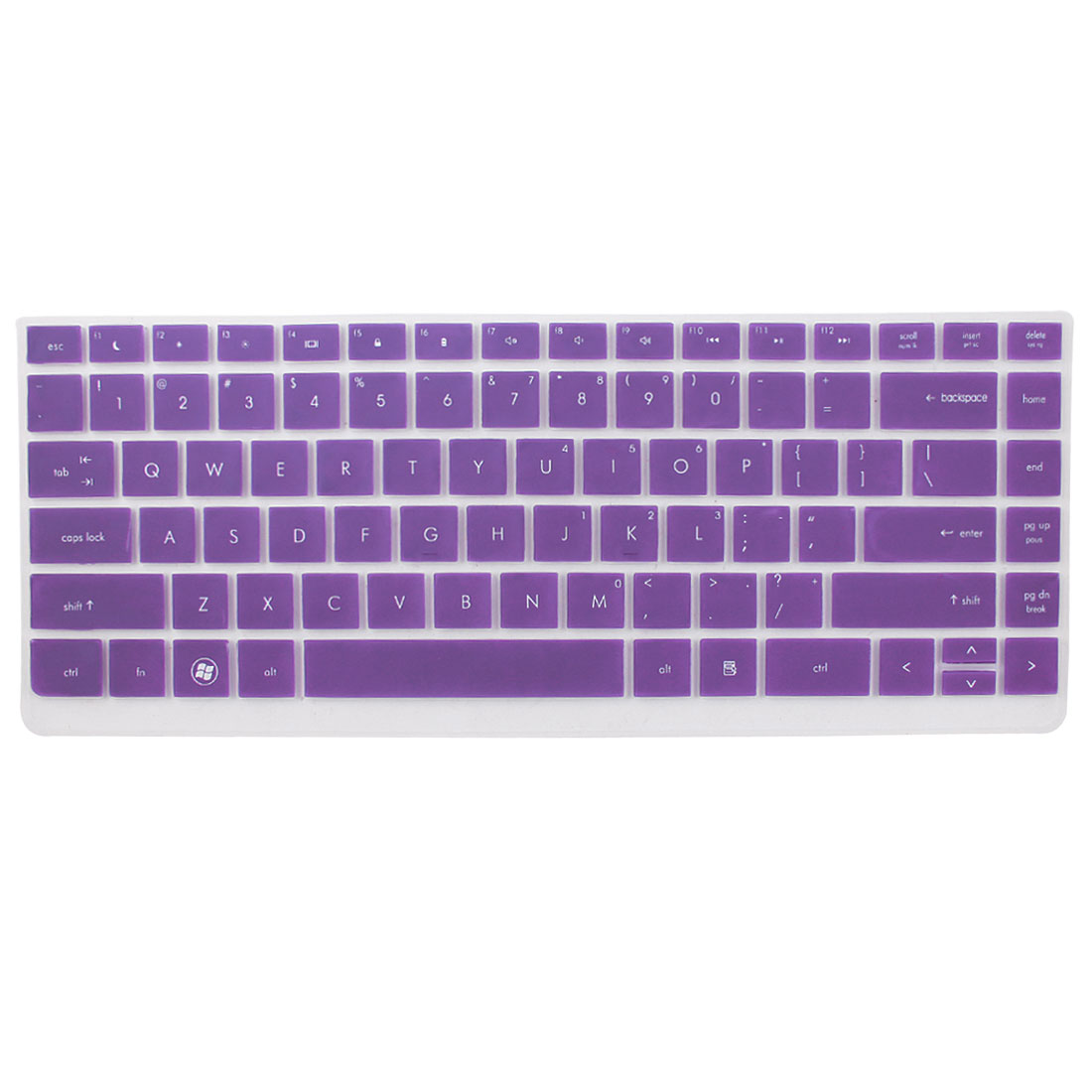 Laptop Keyboard Protector Film Purple Clear for HP Probook 4331S/4336S/4330S