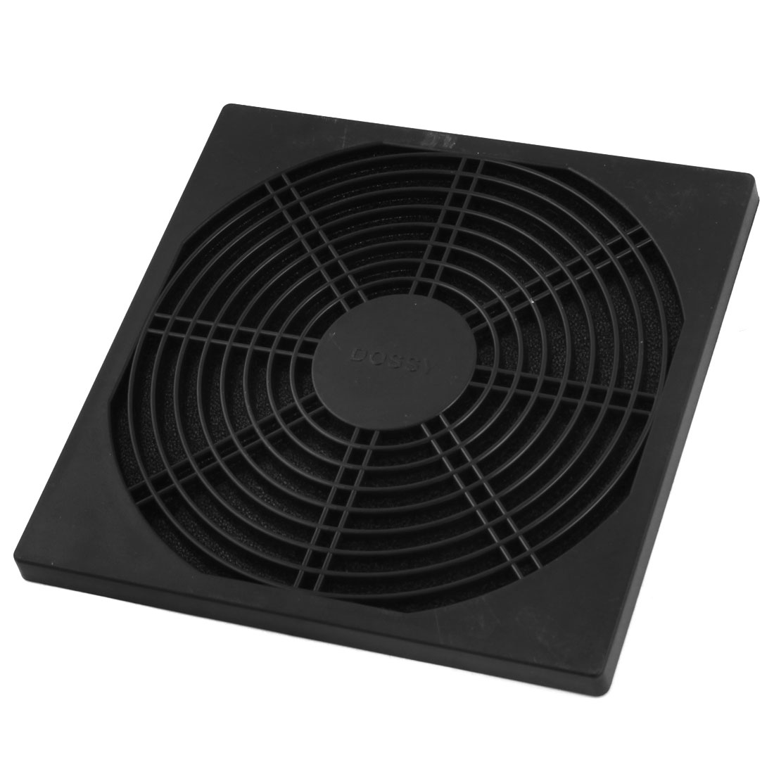 Black Plastic Dustproof 172mm x 172mm Cooling Fan Dust Filter Guard