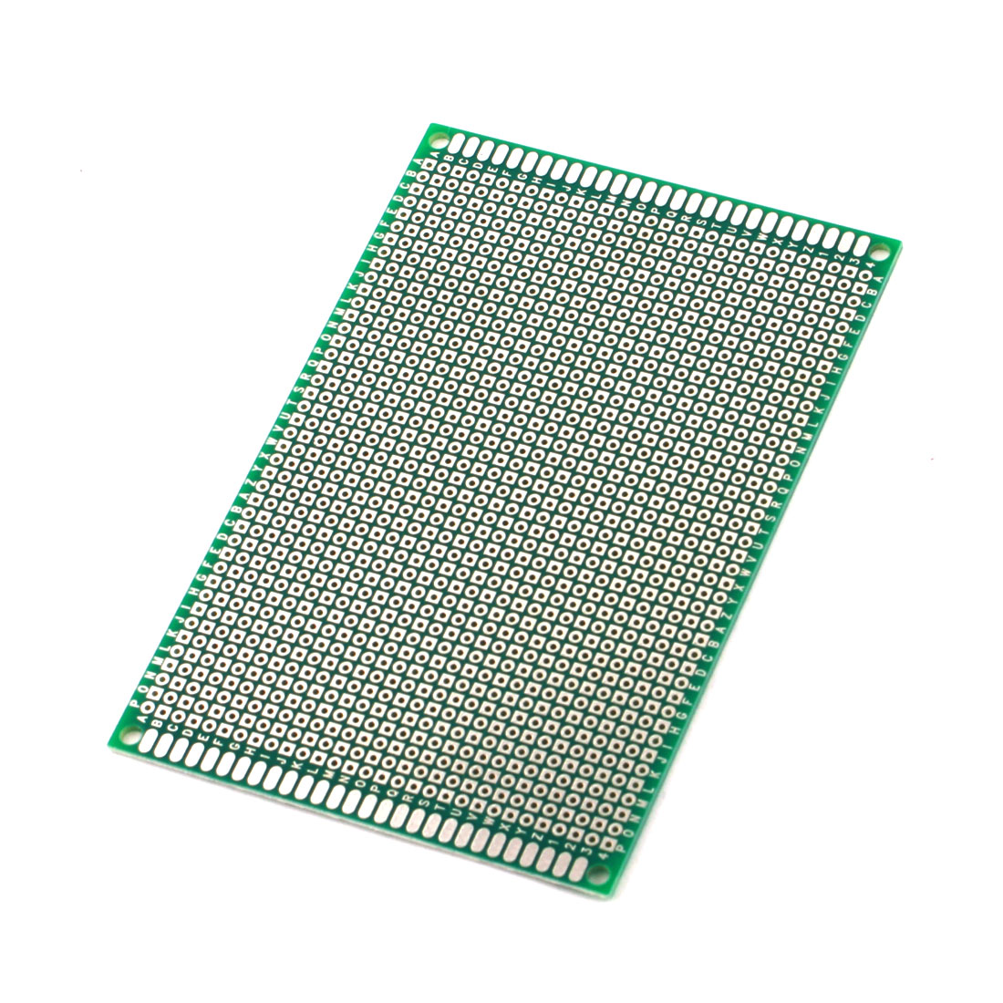 12cm x 8cm 2.54mm Pitch Two Side Tin Plated Universal Prototype PCB Printed Circuit Board