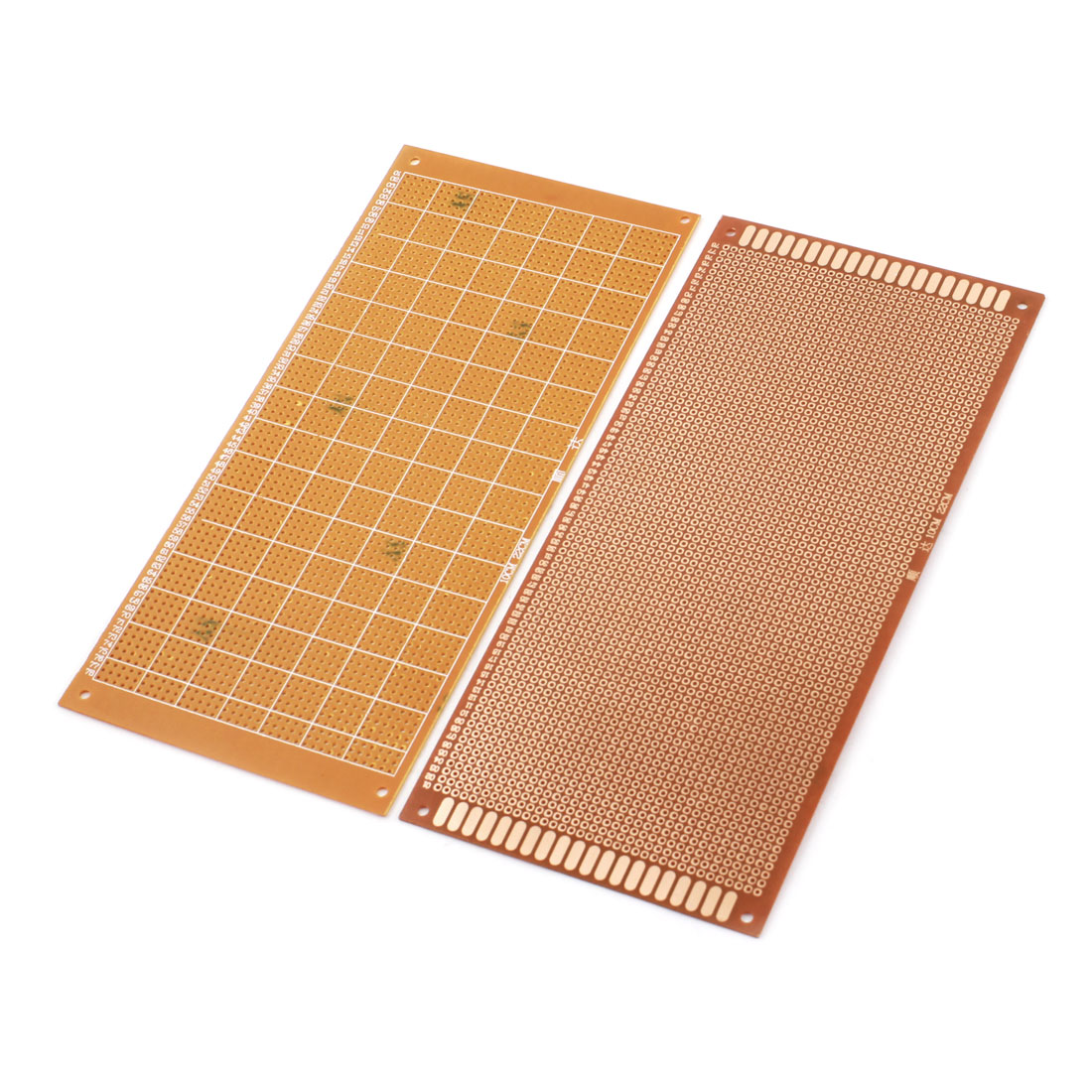 10cm x 22cm One Side Prototype PCB Circuit Board Universal Stripboard 2.54mm Pitch 2Pcs
