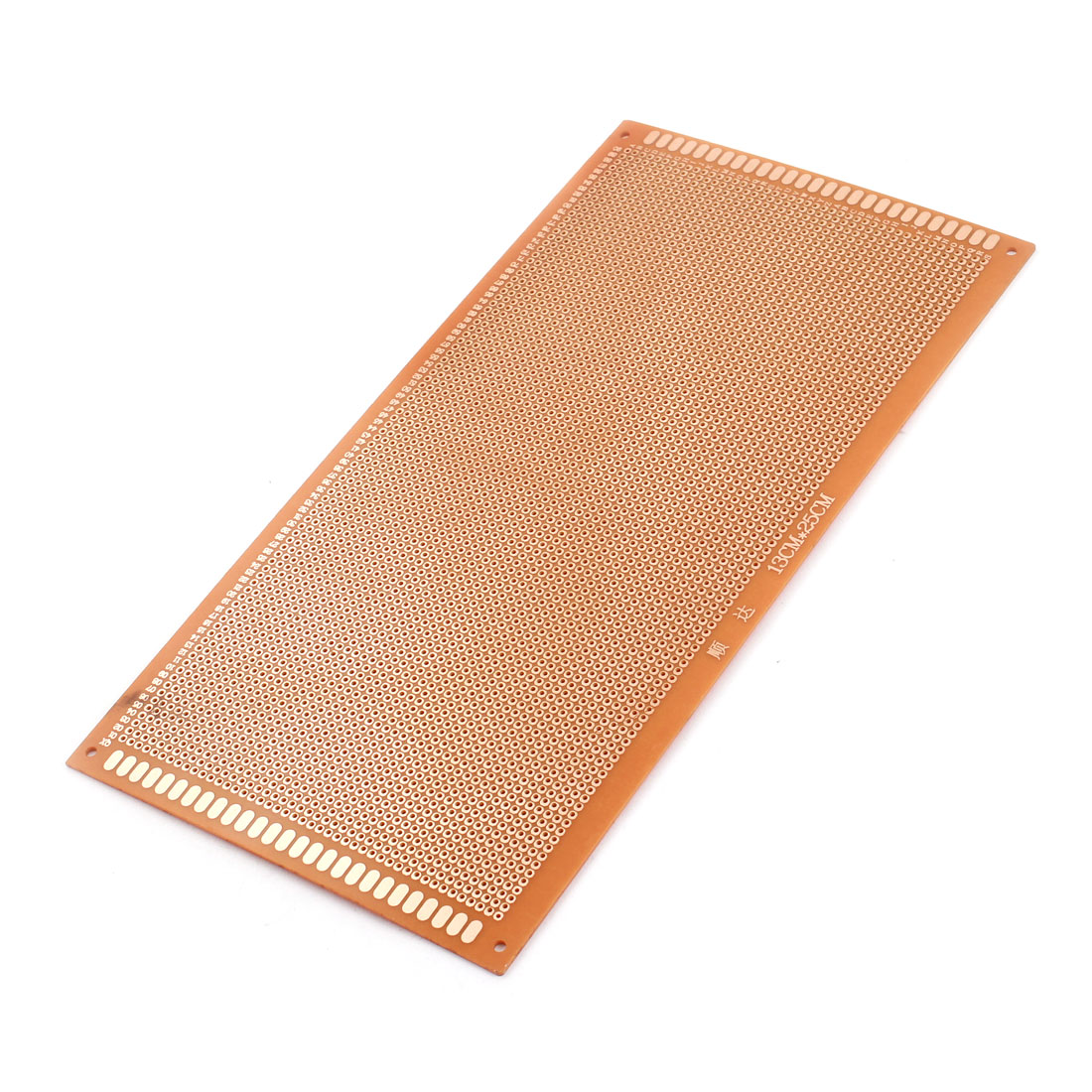 25cm x 13cm One Side Prototype PCB Circuit Board Universal Stripboard Breadboard 2.54mm Pitch