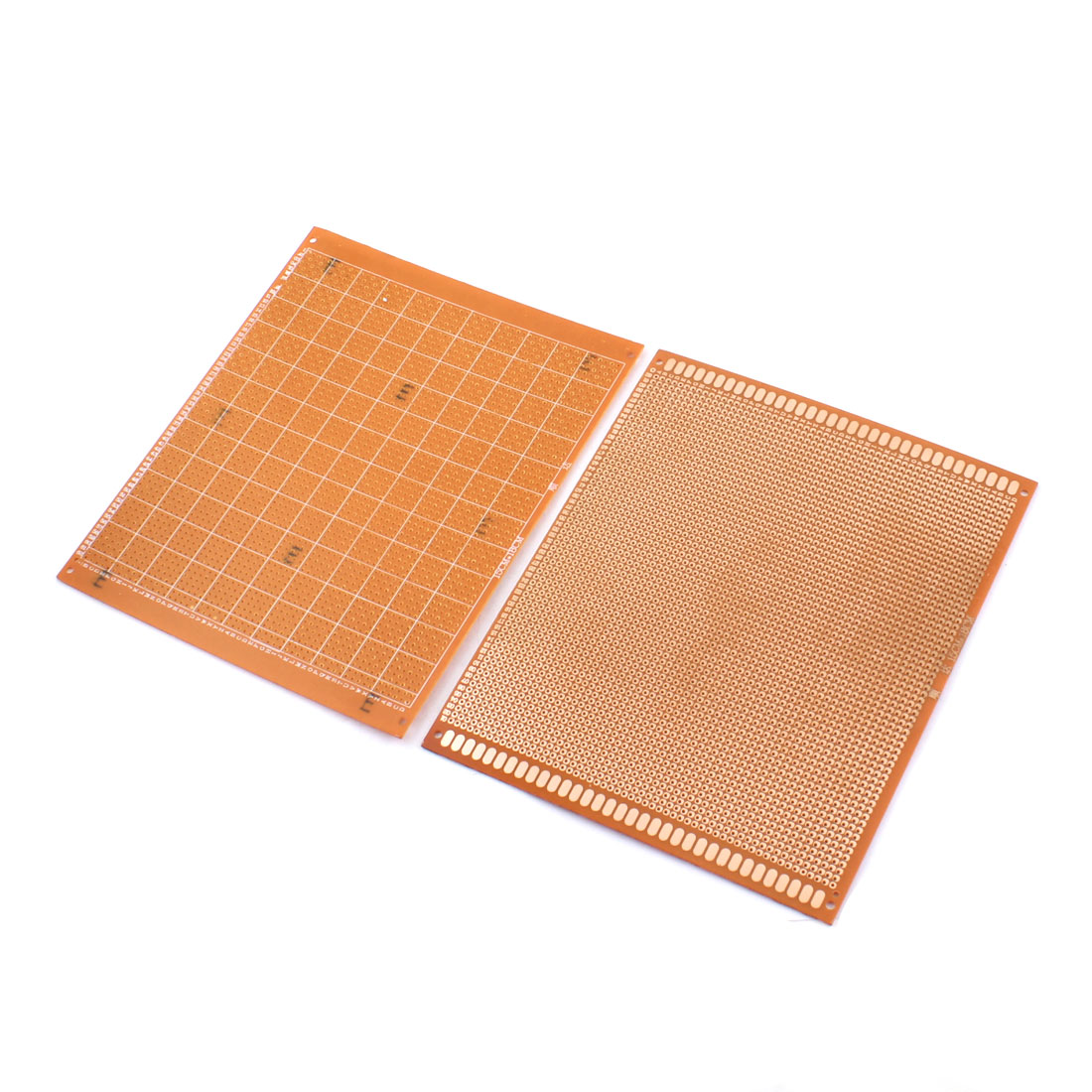 15cm x 18cm One Side Prototype PCB Circuit Board Universal Stripboard 2.54mm Pitch 2Pcs