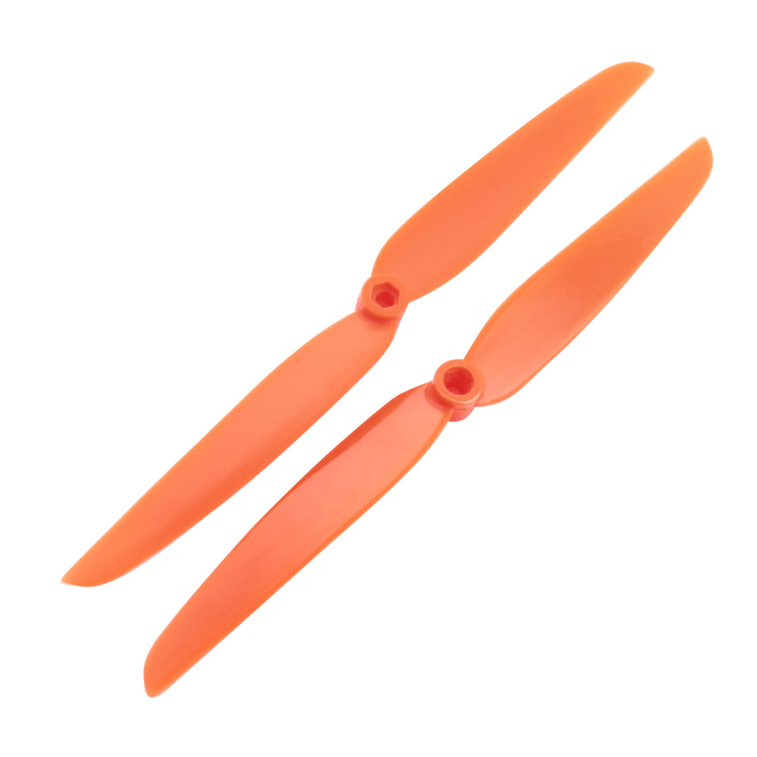 "2Pcs EP7035 7"" Dia 3.5"" Pitch 2 Vanes Orange Plastic CW Rotating RC Propeller EP7035"