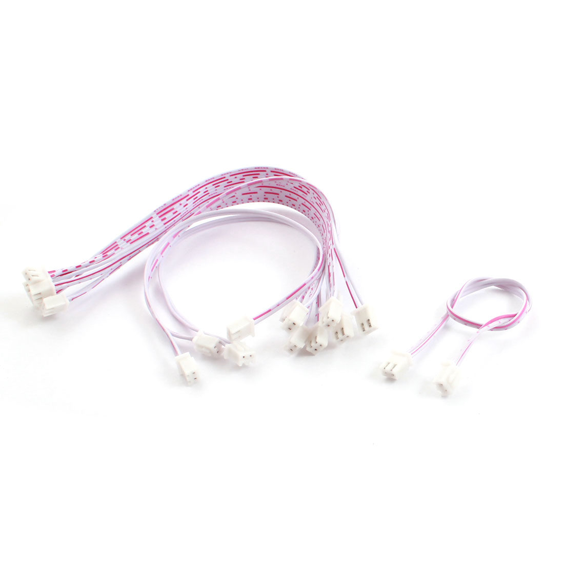 10 Pcs 2.54mm Pitch Dual Ends 1S 3.7V Lipo Balance JST-XH Connector Wire Extension Lead 20cm
