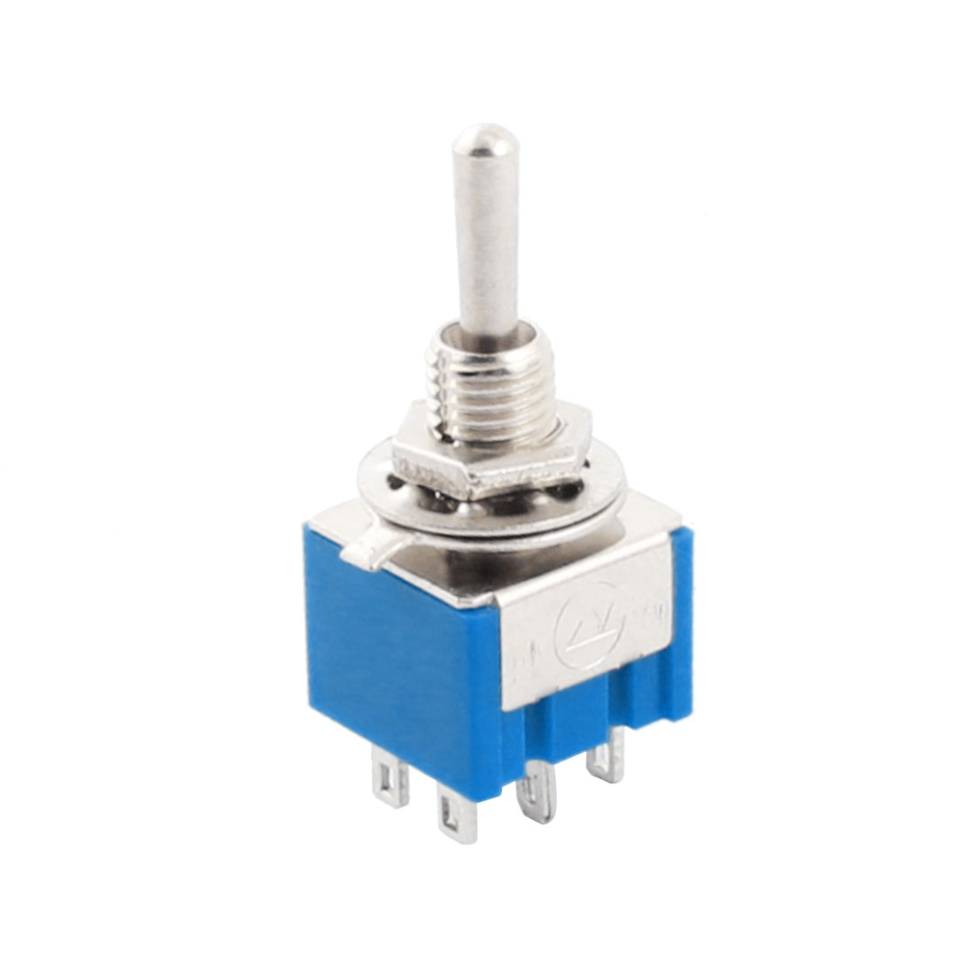 AC 125V 6A DPDT On/OFF/ON 3 Positions 6 Pin Latching Toggle Switch