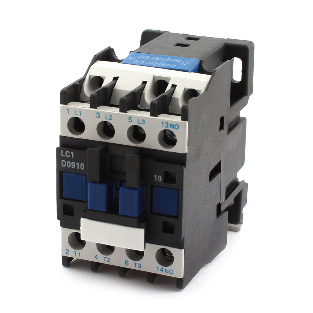 LC1 D0910 35mm DIN Rail Mounting 3-Phase Electric Power AC Contactor 220V