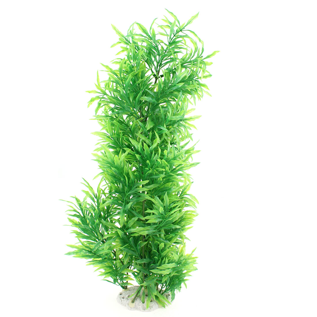 "21"" Height Green Aquarium Ornament Plastic Emulation Underwater Grass Plants"