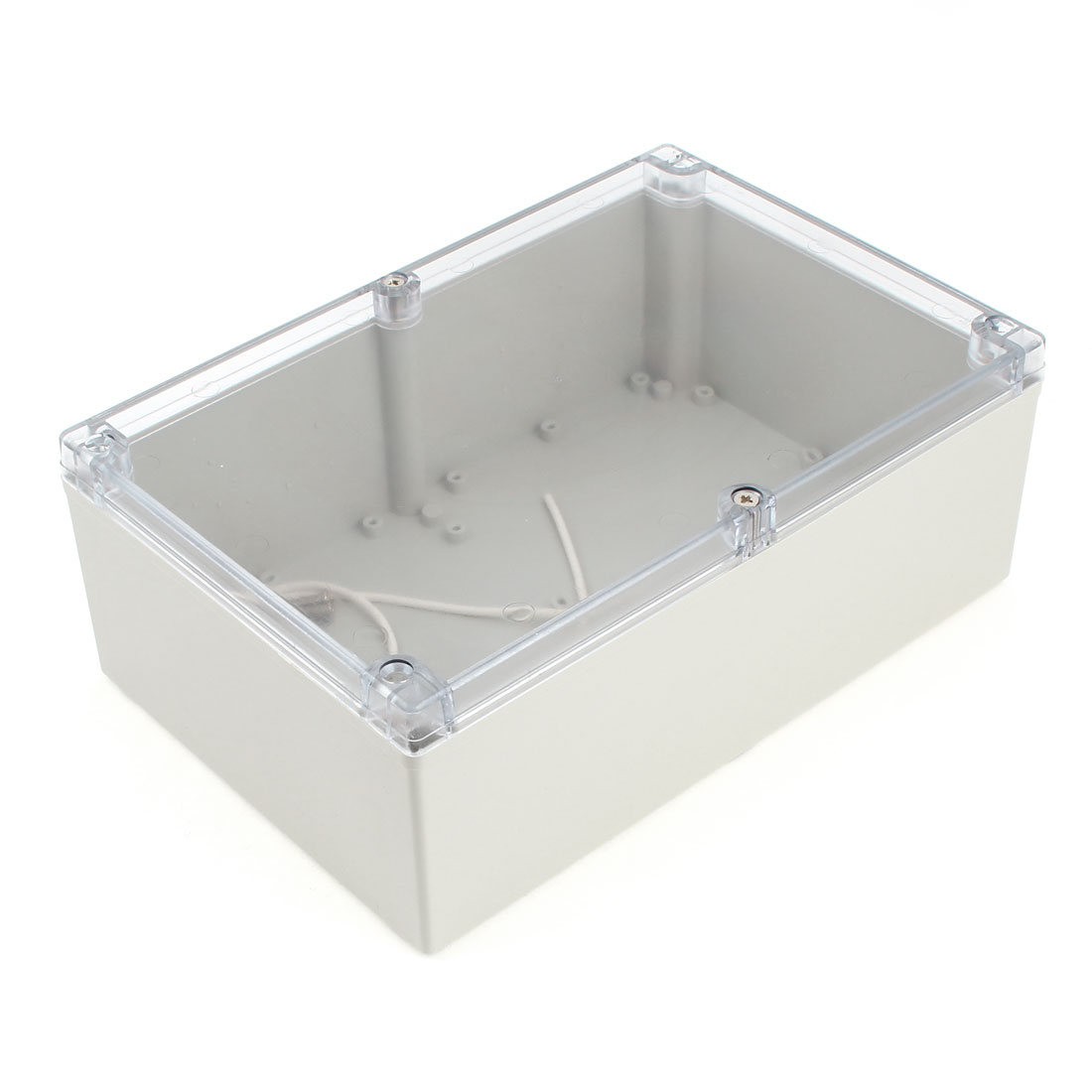 240mm x 160mm x 90mm Waterproof Plastic DIY Junction Box Power Protection Case