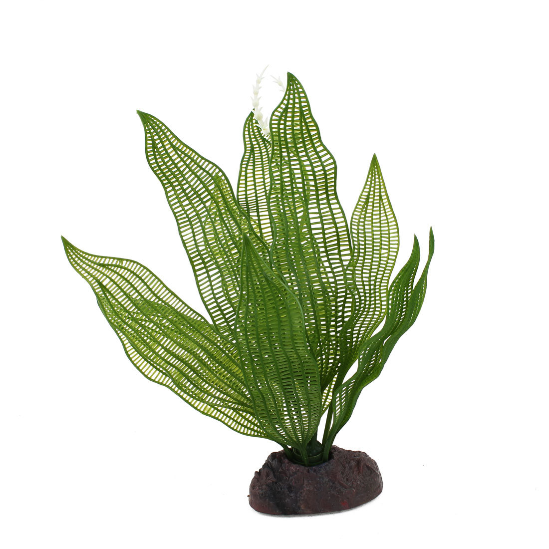 "Aquarium Ornament Underwater Artificial Emulational Water Plant Kelp Green 9.4"" Height"