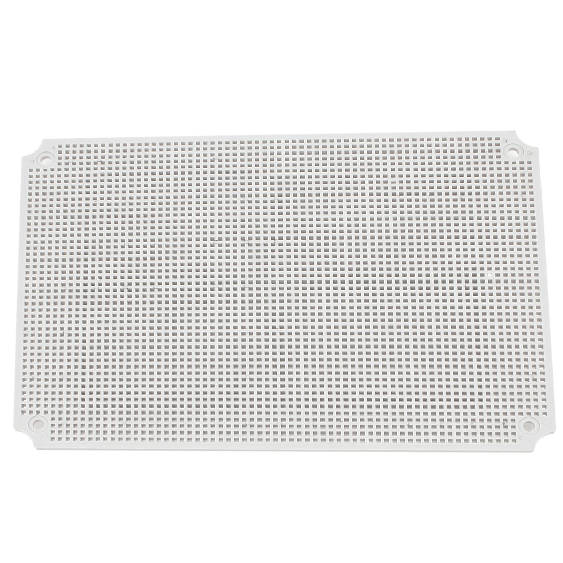 Gray Plastic Mesh Enclosure Mounting Plate for 380 x 280mm Junction Box