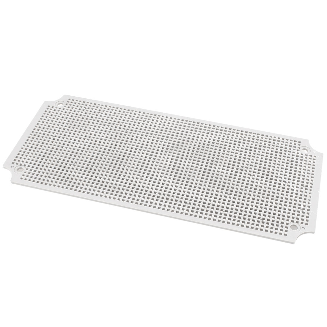 Gray Plastic Mesh Enclosure Mounting Plate for 380 x 190mm Junction Box