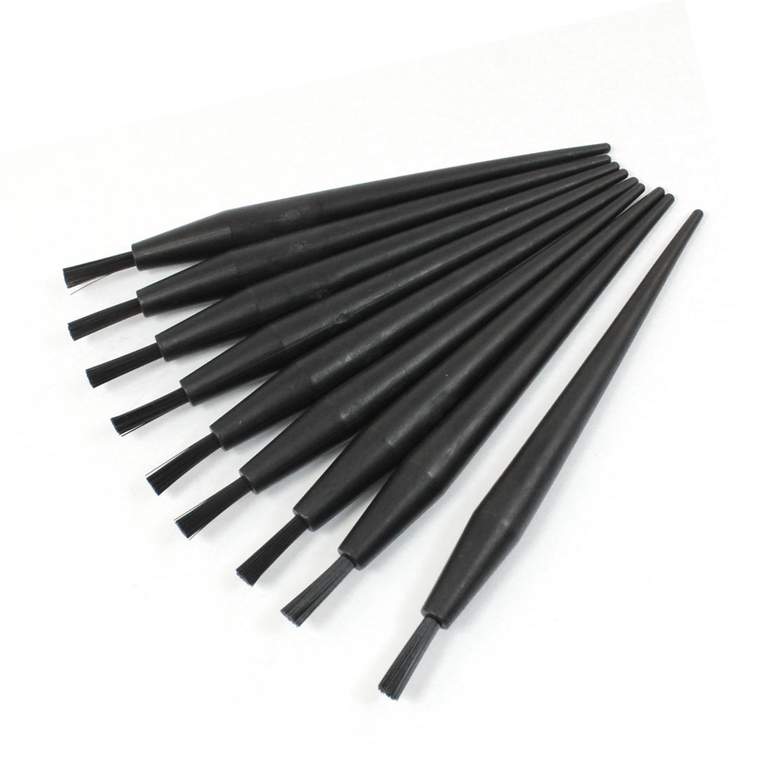 "10pcs 14m 5.5"" Long Plastic Handle Ground Conductive Brushes"