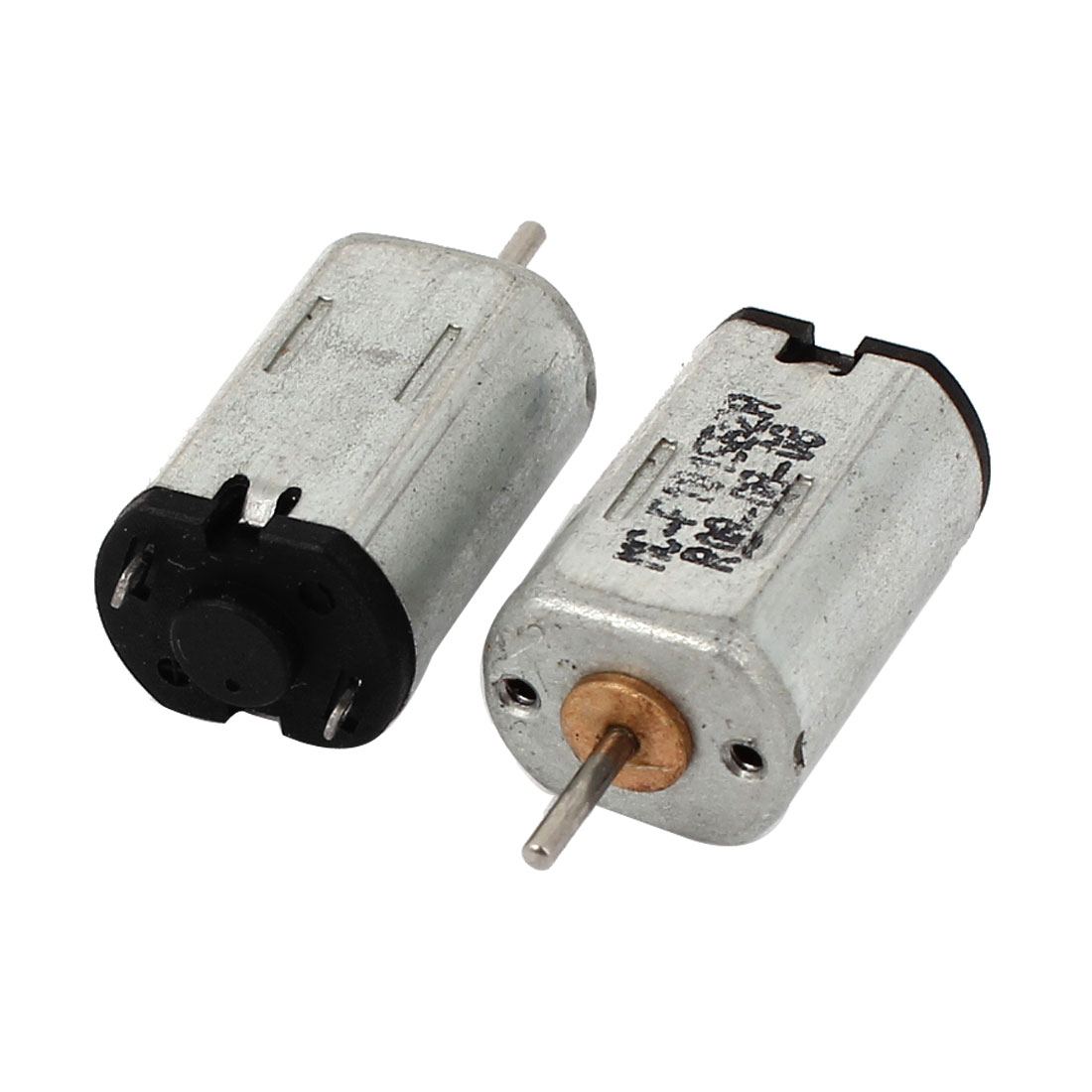 2pcs DC 1.5-6V 21500RPM 1x6mm Shaft Mini Motor for Car Model Toys DIY