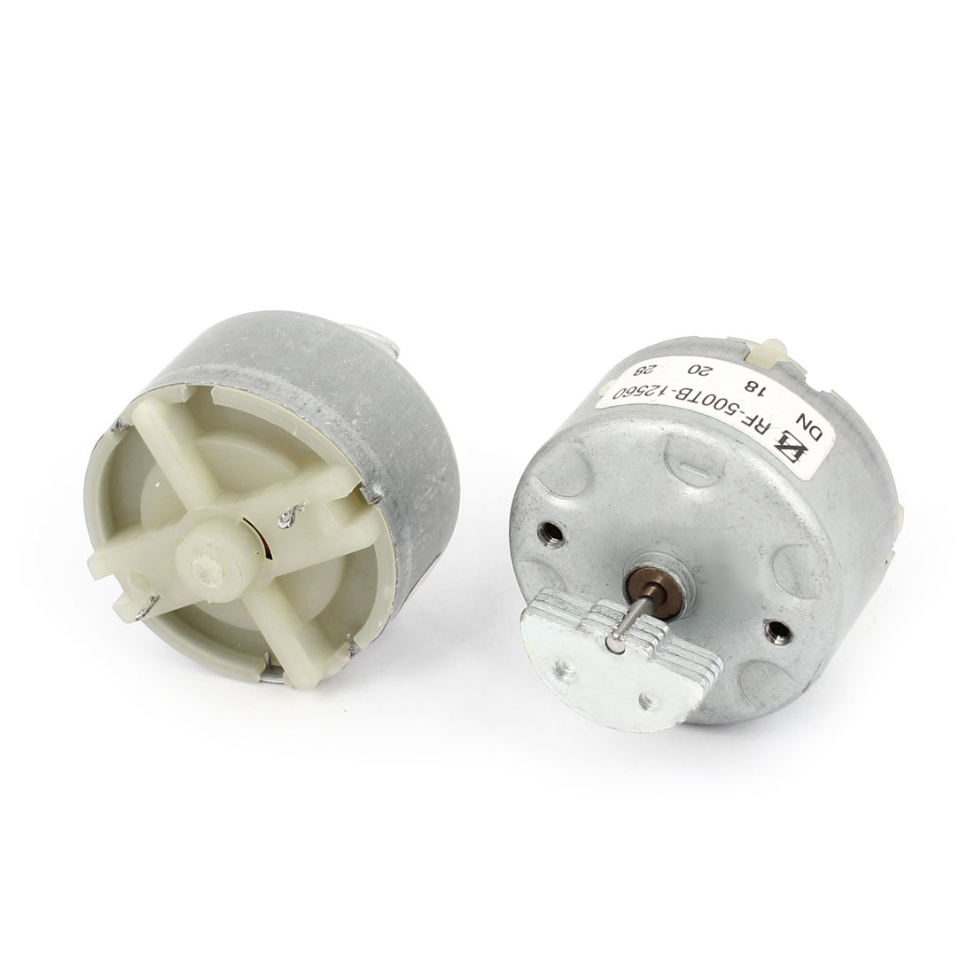 2pcs DC 3-12V 18000RPM Rotary Speed Cylinder Shape Electric Vibration Motor